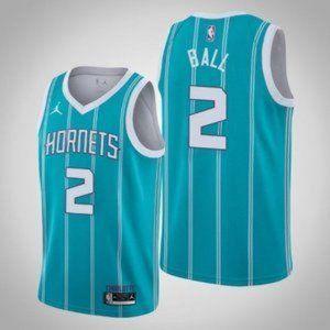 2021 Charlotte Hornets LaMelo Ball Blue Jersey #2
